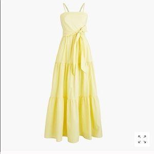 J. Crew Tiered Maxi Dress